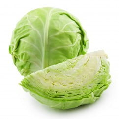 Cabbage Green per pc (approx 500gm)